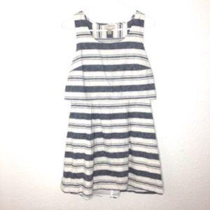 LOFT Striped Dress size 10